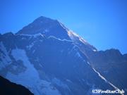 エベレスト<8848m>と ローツェ<8516m>