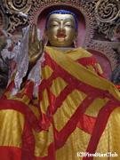 白居寺 チョルテンにある108の仏壇(ギャンツェ)