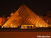 ルーブル美術館の夜景