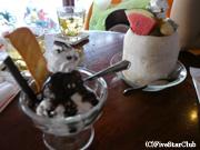アイスクリーム屋さんにて