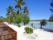 孤島に唯一のホテル「アイツタキ・ラグーン・リゾート&スパ」