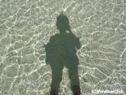 透明度の高いアイツタキの海