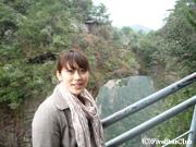 天子山自然保護区にて(張家界)