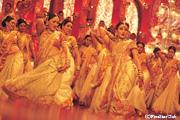 歌と踊りのインド映画(イメージ)
