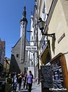 800年の歴史を持つ旧市街(タリン)