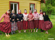 キフヌ島の民族衣装