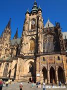 プラハ城の聖ヴィート教会