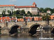 カレル橋とプラハ城(プラハ)