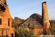 ホテル ンゴロンゴロクレーターロッジ 部屋の外観