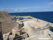 キレニア城と地中海(ギルネ)