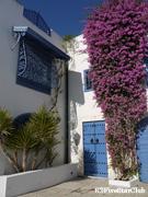 白壁と青い窓枠の町・シティブサイド