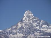 オーストラリアンキャンプから望む アンナプルナ連峰