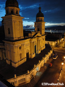 サンティアゴ・デ・クーバの夜景