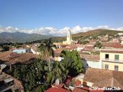 市立歴史博物館からトリニダーの町を眺望