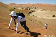 ソッサスブレイの砂丘 (ナミブ砂漠)