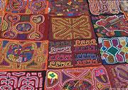 クナ族の民族衣装モラ