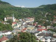 新城からの町の眺め