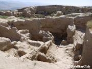ソグド人の古代都市遺跡(ペンジケント)