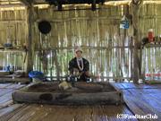 アカ族のシャーマンの家(アカ族の村/チェンマイ近郊)