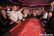 船内でのカジノ