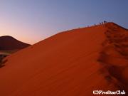 デューン 45の大砂丘の日の出