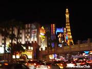 ストリップ通りの夜景(ラスベガス)