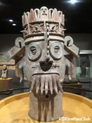 国立人類博物館 アステカの部屋展示物