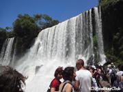 イグアス滝/ロウアーートレイル・滝を間近に見られる