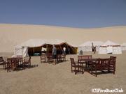 インランドシー 砂漠サファリのテント