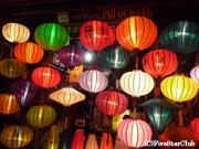 ランタンが彩る世界遺産の旧市街(ホイアン)