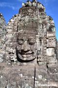 バイヨン寺院 観世音菩薩の四面塔