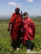 マサイ族とウォーキングサファリ