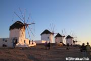 ミコノス島のシンボル・風車