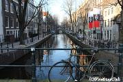 アムステルダムの街角で