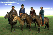 ウンドルドブツーリストキャンプ周辺・遊牧民