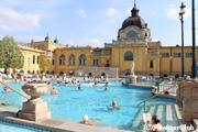 ヨーロッパ最大 セーチェニ温泉
