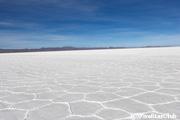 塩の結晶でできた大地