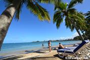 ニューカレドニアのビーチ(ヌメア)