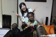 ケニア人の家庭訪問