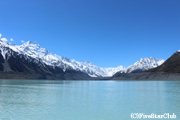 タスマン氷河湖(マウントクック)