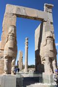 ペルセポリス遺跡/儀仗兵の通路の支柱
