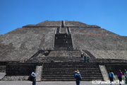 ティオティワカン/太陽のピラミッド