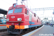 シベリア鉄道『オケアン号』