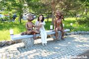 ディナモ公園/ロシア童話の像