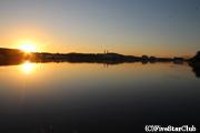 ナイル川の夜明け