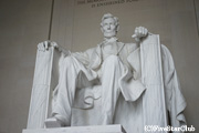 リンカーン記念館 リンカーン像
