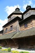 世界遺産のジョウクヴァ木造教会
