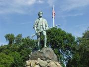 アメリカ独立戦争の民兵・ミニットマン像