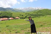 タテヴ村からの絶景