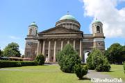 ハンガリー カトリックの総本山のエステルゴム大聖堂